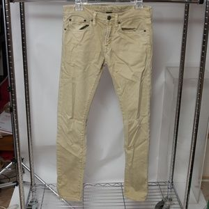 American Eagle Outfitters Super Skinny Khaki Jeans